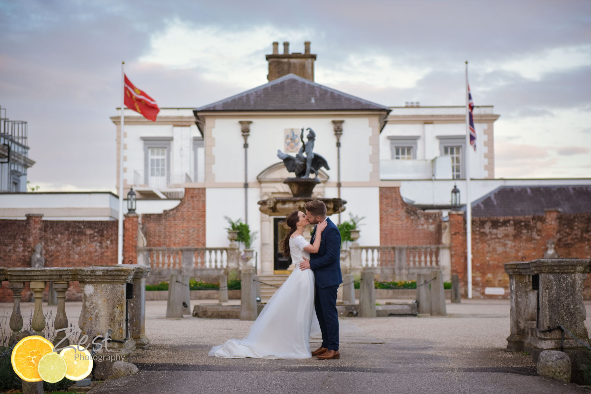 wedding at buxted park in east sussex