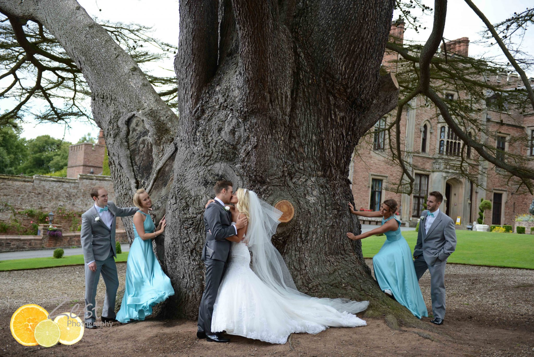 Mr England weds his princess at rowton castle
