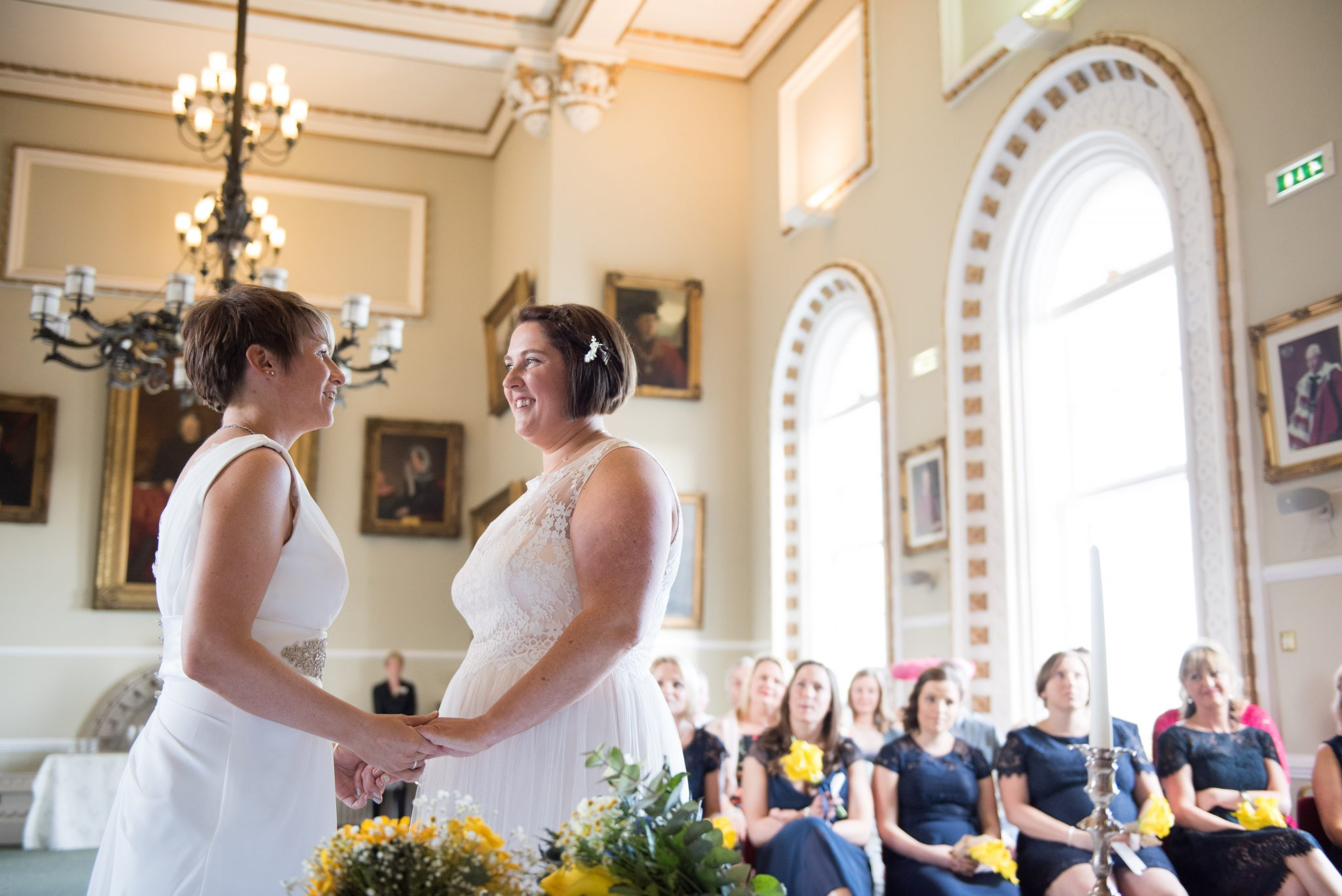 same sex wedding in arundel by sussex photographer