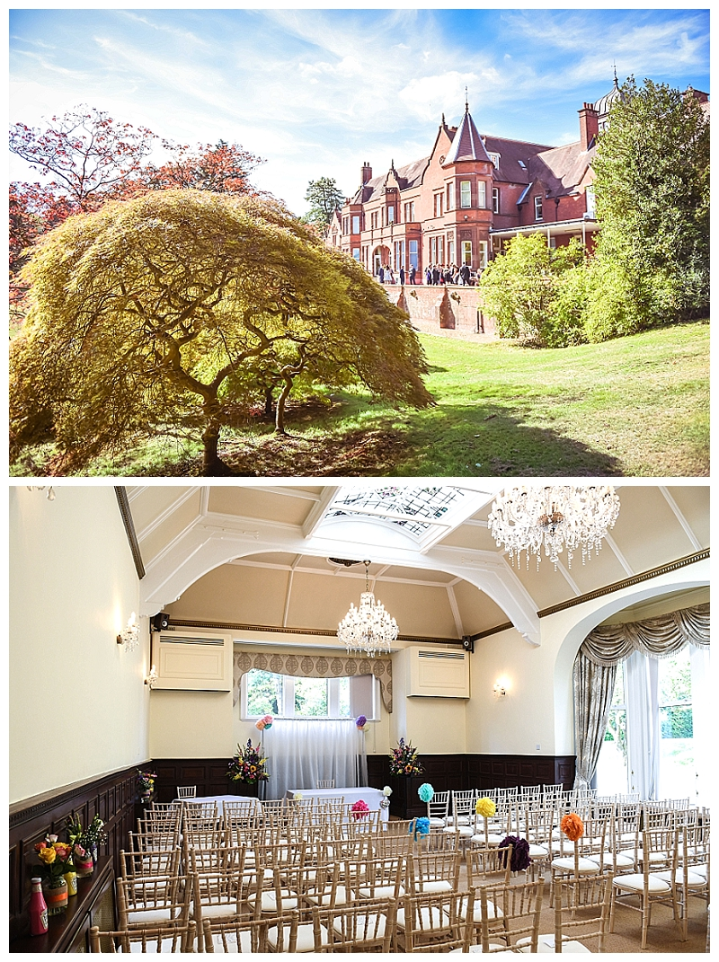 Wedding venue country house