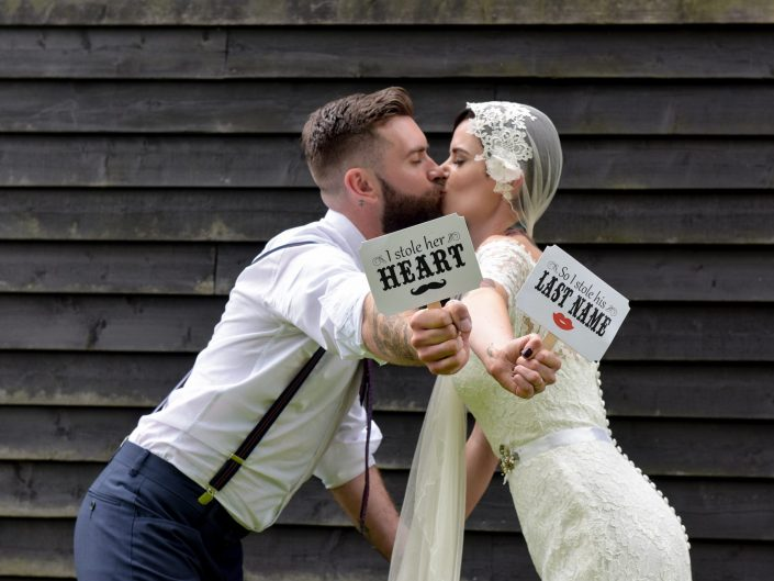 Alternative, quirky, vintage wedding at Pangdean Barn in Sussex - East Sussex wedding photographer
