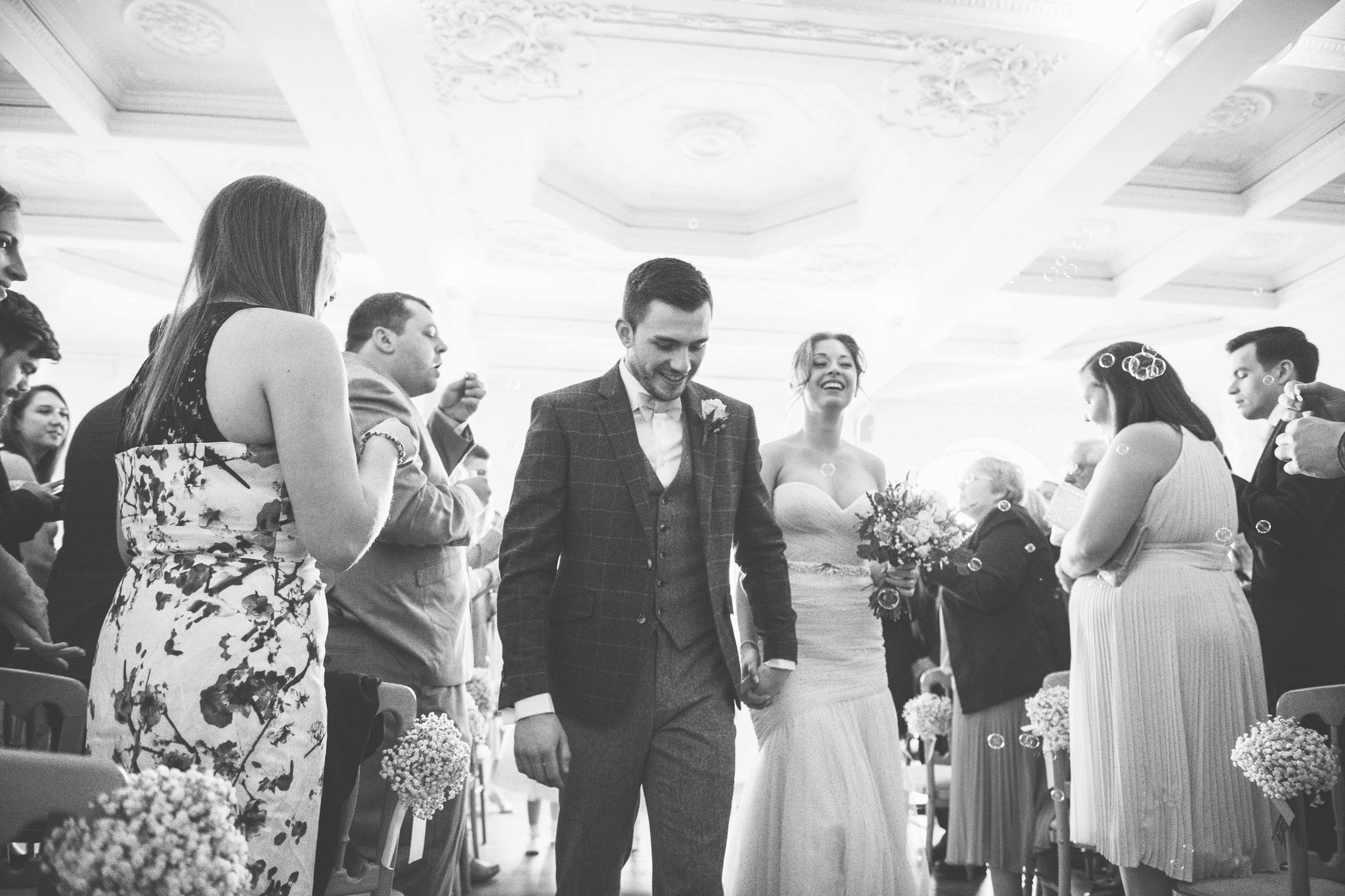 Lauren and Scotts wedding at The Dome, Worthing – 31st March 2018
