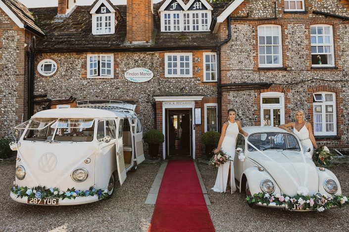 The Findon Manor Wedding Experience
